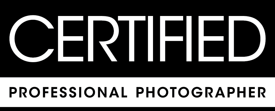 cetrified professional photographer